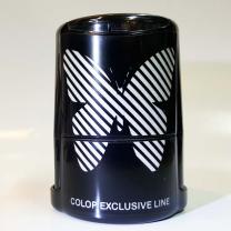 Оснастка для круглой печати с крышкой Colop Printer R40 Бабочка (L30, серебро).