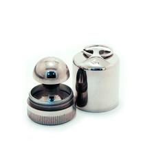 «МАТРЁШКА-брелок» d 45 мм (с подушкой) Оснастка круглая металлическая . OL-21 045 M
