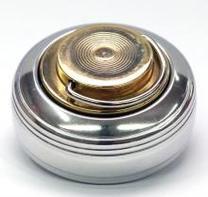 К «Леон» d42 мм с подушкой и кнопкой. Металлическая оснастка для круглой печати.