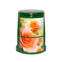 Оснастка для круглой печати с крышкой Colop Printer R40 Розы 2 (E49).