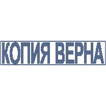 Клише штампа Копия-01 38*09